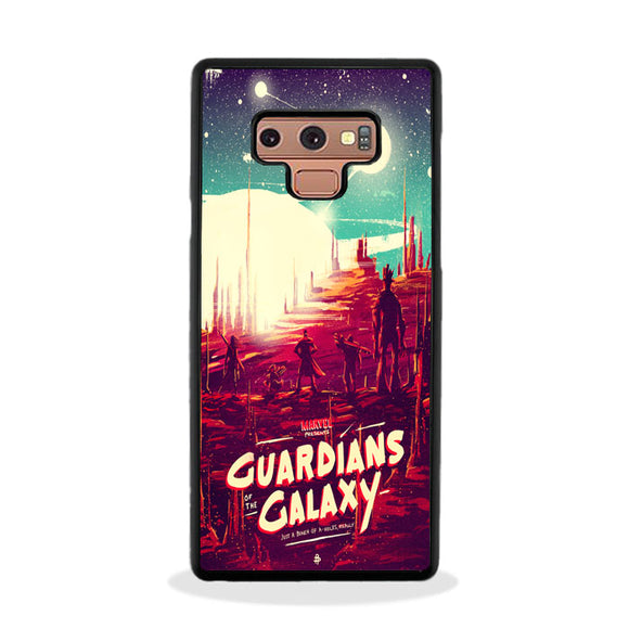 Poster Posse Guardians Of The Galaxy Samsung Galaxy Note 9 Case | Frostedcase