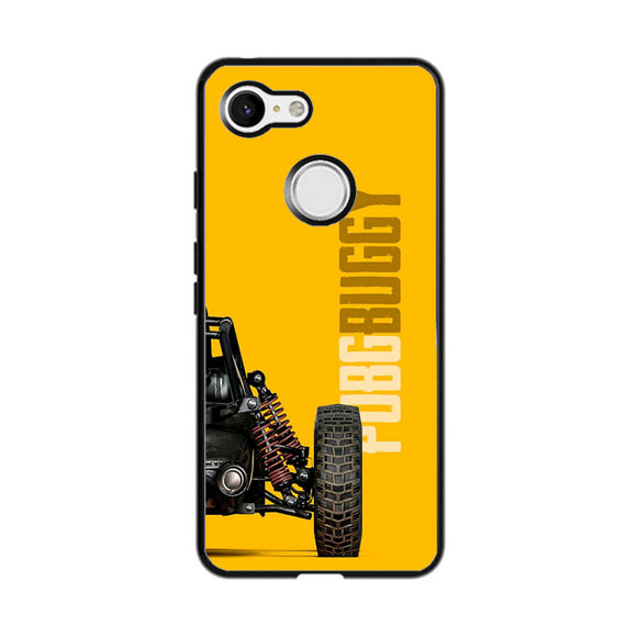 Pubg Buggy Game Yellow Google Pixel 3 XL Case | Frostedcase