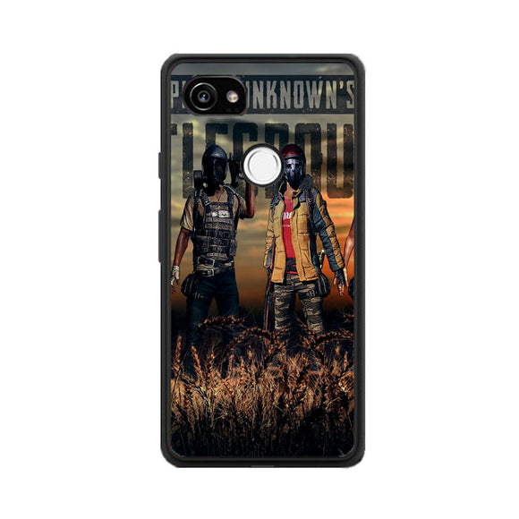 Pubg Playerunknowns Battlegrounds Characters Google Pixel 2 Case | Frostedcase