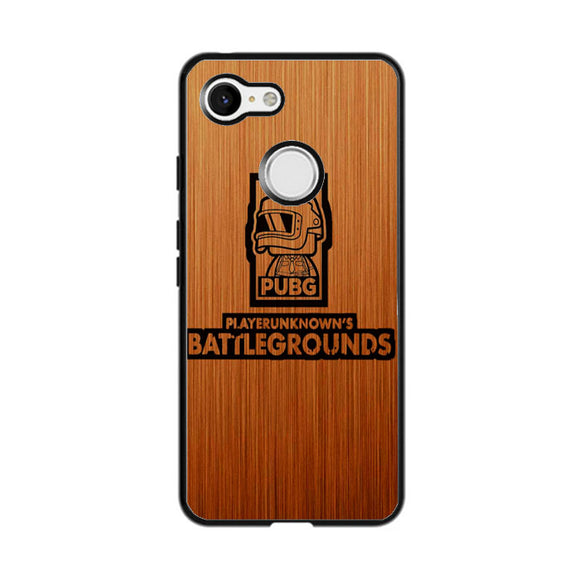 Pubg Wood Emblem Google Pixel 3 XL Case | Frostedcase