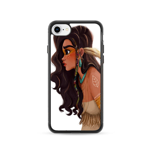 Putri Moana Indian Art iPhone 8 Case | Frostedcase