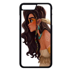 Putri Moana Indian Art iPhone 7 Plus Case | Frostedcase
