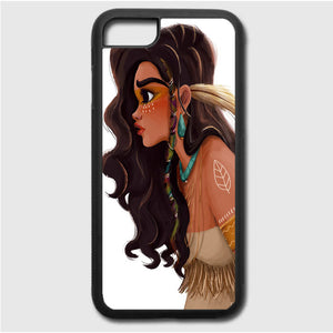 Putri Moana Indian Art iPhone 7 Case | Frostedcase