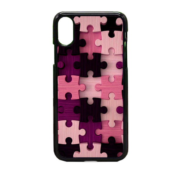 Puzzel iPhone X Case | Frostedcase