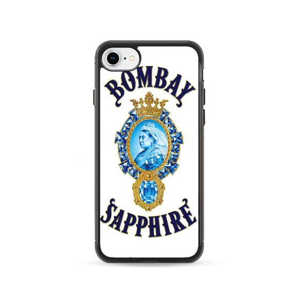 Qeen Bombay Saphier iPhone 8 Case | Frostedcase