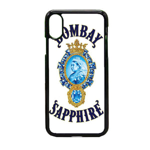 Qeen Bombay Saphier iPhone X Case | Frostedcase