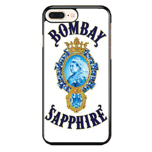 Qeen Bombay Saphier iPhone 8 Plus Case | Frostedcase