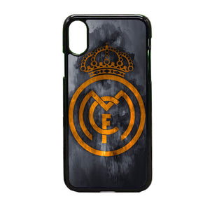 Real Madrid Logo Art iPhone X Case | Frostedcase