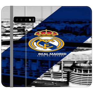 Real Madrid Samsung Galaxy S10 Plus Flip Case | Frostedcase