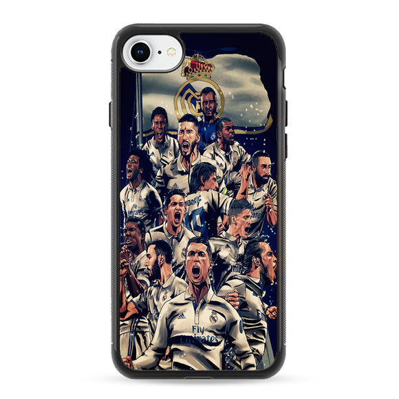 Realmadrid Art iPhone 8 Case | Frostedcase