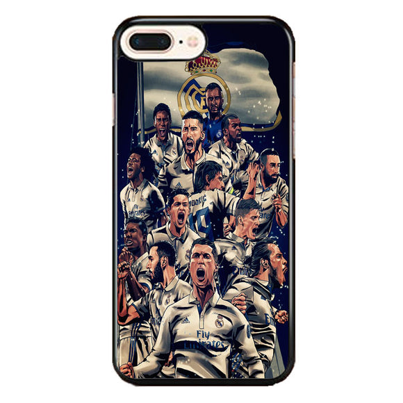 Realmadrid Art iPhone 8 Plus Case | Frostedcase