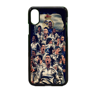 Realmadrid Art iPhone X Case | Frostedcase