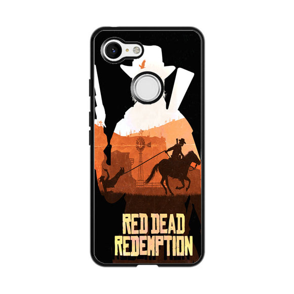 Red Dead Redemption Google Pixel 3 Case | Frostedcase