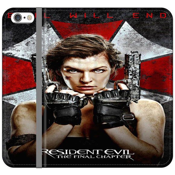 Resident Evil The Final Chapter iPhone 6 Plus|6S Plus Flip Case | Frostedcase