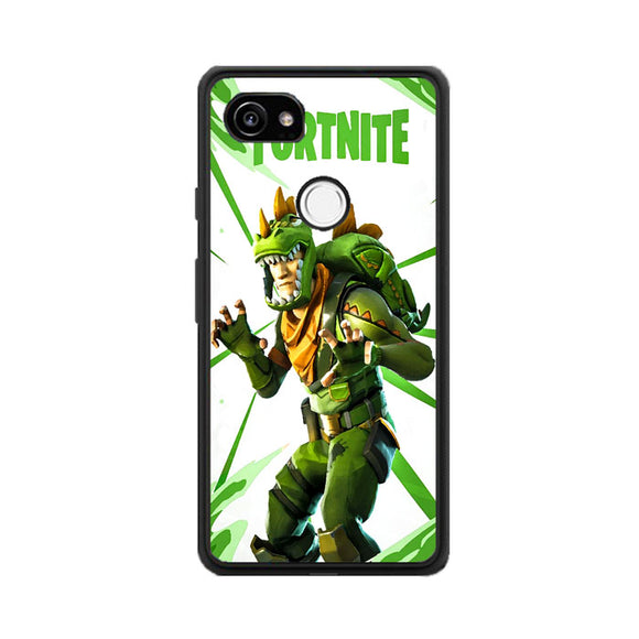 Rex Fortnite Illustration Google Pixel 2 XL Case | Frostedcase