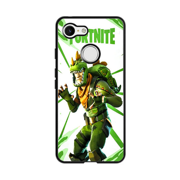 Rex Fortnite Illustration Google Pixel 3 XL Case | Frostedcase