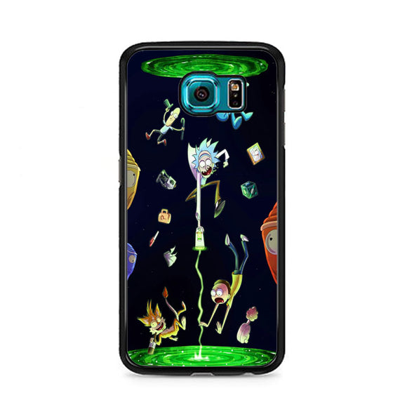 Rick And Morty Samsung Galaxy S6 Case | Frostedcase