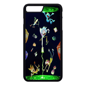 size 40 7aaa8 70862 Rick And Morty iPhone 7 Plus Case | Frostedcase