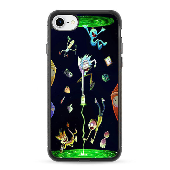 Rick And Morty iPhone 8 Case | Frostedcase
