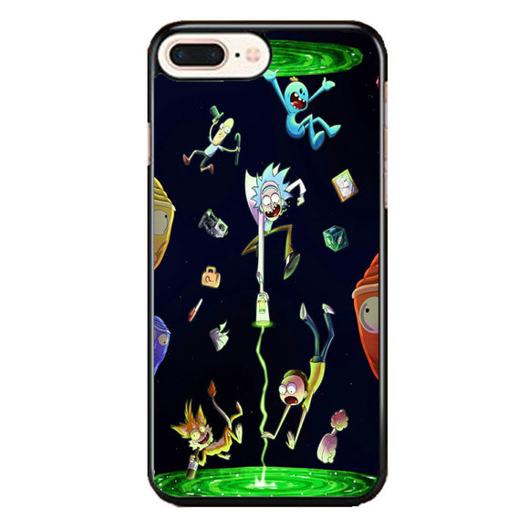 Rick And Morty iPhone 8 Plus Case | Frostedcase