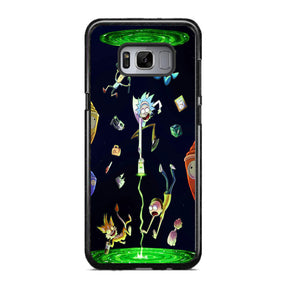 brand new c30bc 6df79 Rick And Morty Samsung Galaxy S8 Case   Frostedcase