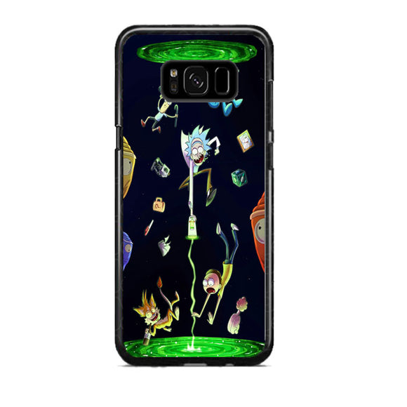 Rick And Morty Samsung Galaxy S8 Plus Case | Frostedcase