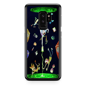 new product 1dcb7 f6aa0 Rick And Morty Samsung Galaxy S9 Plus Case | Frostedcase
