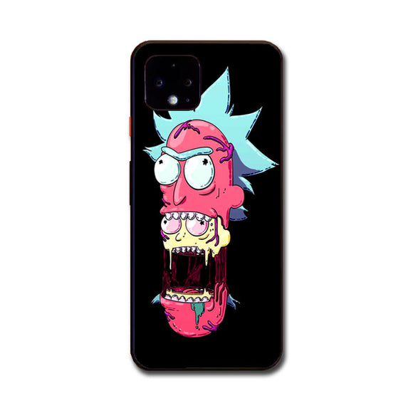 Rick And Morty Trippy Pink Google Pixel 4 XL Case | Frostedcase