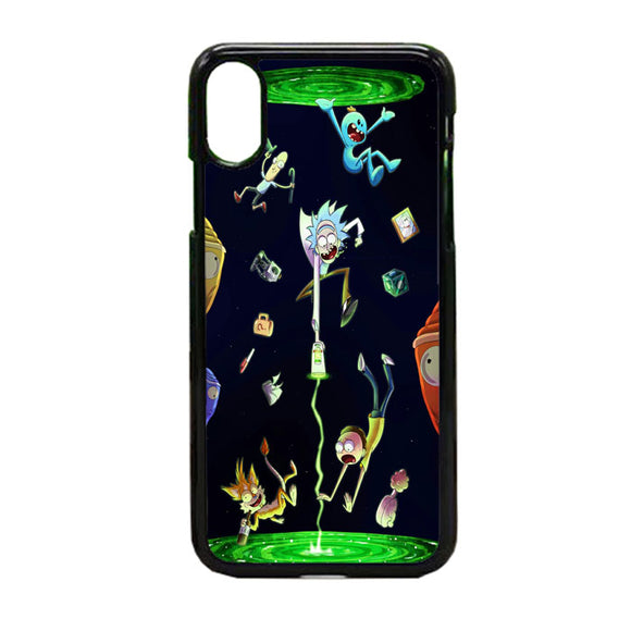 Rick And Morty iPhone XS Case | Frostedcase