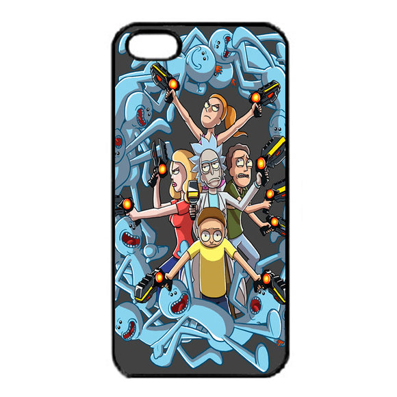 Rick E Morty Frases iPhone 5|5S|SE Case | Frostedcase