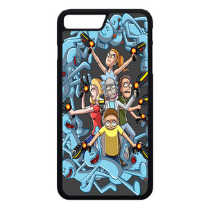 Rick E Morty Frases iPhone 7 Plus Case | Frostedcase