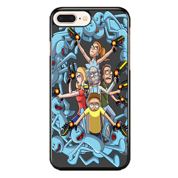 Rick E Morty Frases iPhone 8 Plus Case | Frostedcase