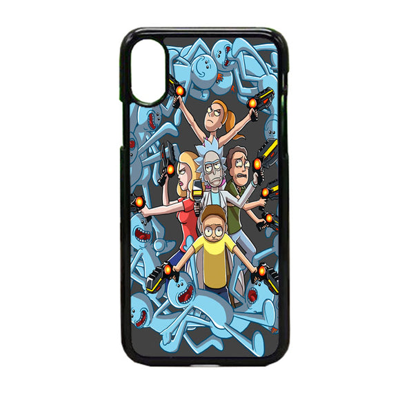 Rick E Morty Frases iPhone X Case | Frostedcase