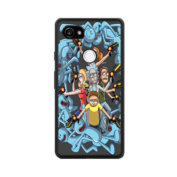 Rick E Morty Frases Google Pixel 2 XL Case | Frostedcase