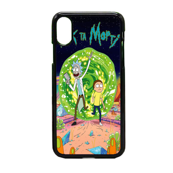 Rick & Morty Contains iPhone X Case | Frostedcase