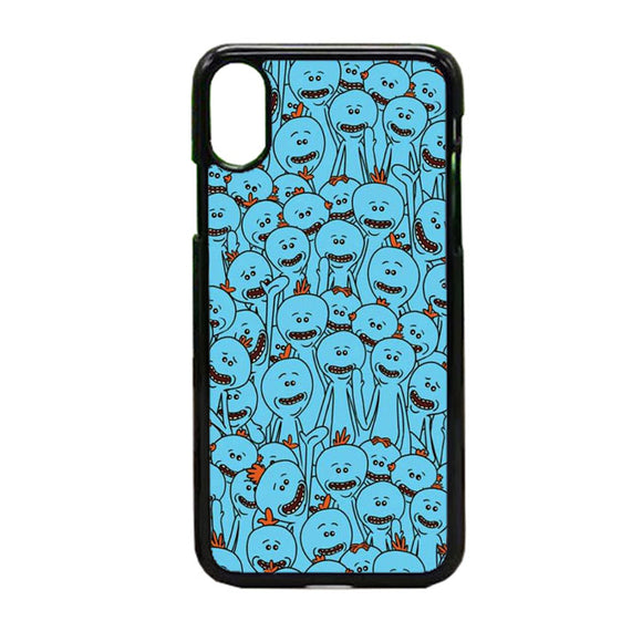 Rick Morty Doodle iPhone X Case | Frostedcase