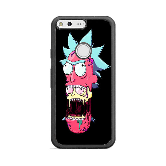 competitive price cccd2 51fcb Rick And Morty Trippy Pink Google Pixel Case   Frostedcase