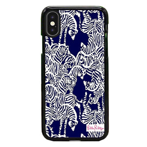 Safari Zebra Pattern Vineyard Vines iPhone X Case | Frostedcase