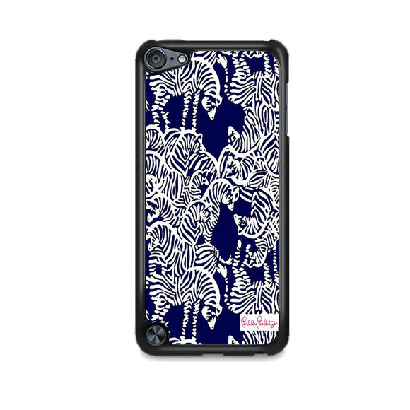 Safari Zebra Pattern Vineyard Vines iPod 5 Case | Frostedcase