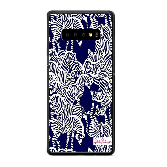 Safari Zebra Pattern Vineyard Vines Samsung Galaxy S10e Case | Frostedcase