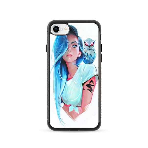 Sapphire By Rossdraws iPhone 8 Case | Frostedcase