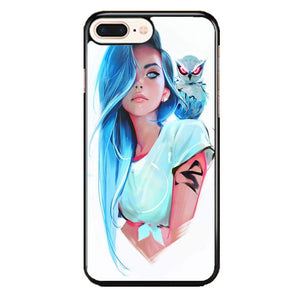 Sapphire By Rossdraws iPhone 8 Plus Case | Frostedcase