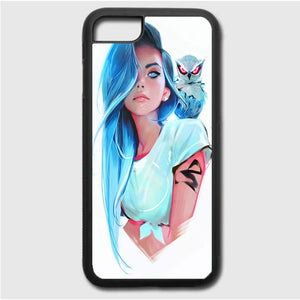 Sapphire By Rossdraws iPhone 7 Case | Frostedcase