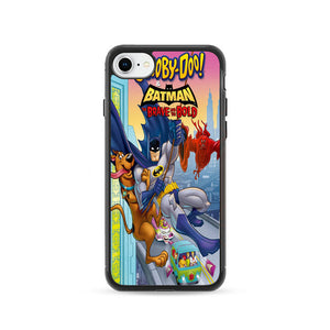 Scooby Doo & Batman The Brave And The Bold iPhone 8 Case | Frostedcase