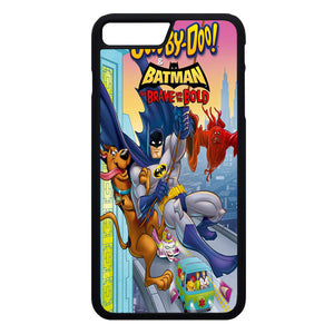 Scooby Doo & Batman The Brave And The Bold iPhone 7 Plus Case | Frostedcase