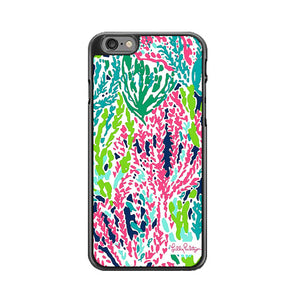 online store f5dc2 9f33b Seaweed Pattern Art Lilly Pulitzer iPhone 6 Plus 6S Plus Case   Frostedcase