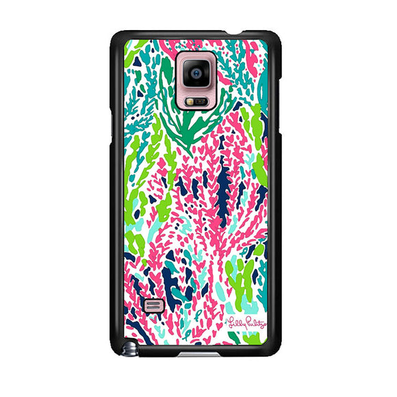 Seaweed Pattern Art Lilly Pulitzer Samsung Galaxy Note 4 Case | Frostedcase
