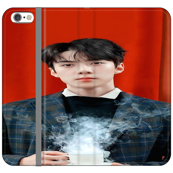 Sehun Teaser Universe iPhone 6 Plus|6S Plus Flip Case | Frostedcase