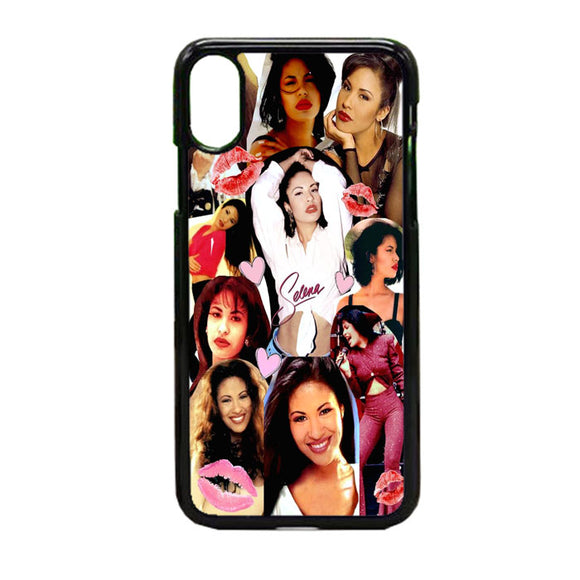 Selena Quintanilla Collegen iPhone X Case | Frostedcase