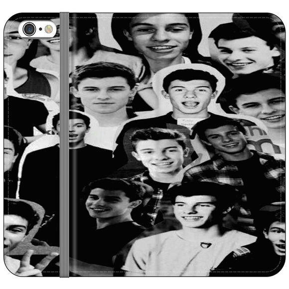 Shawn Mendes Collage iPhone 6 Plus|6S Plus Flip Case | Frostedcase